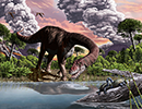 Some like it hot: Global warming triggered the evolution of giant dinosaurs